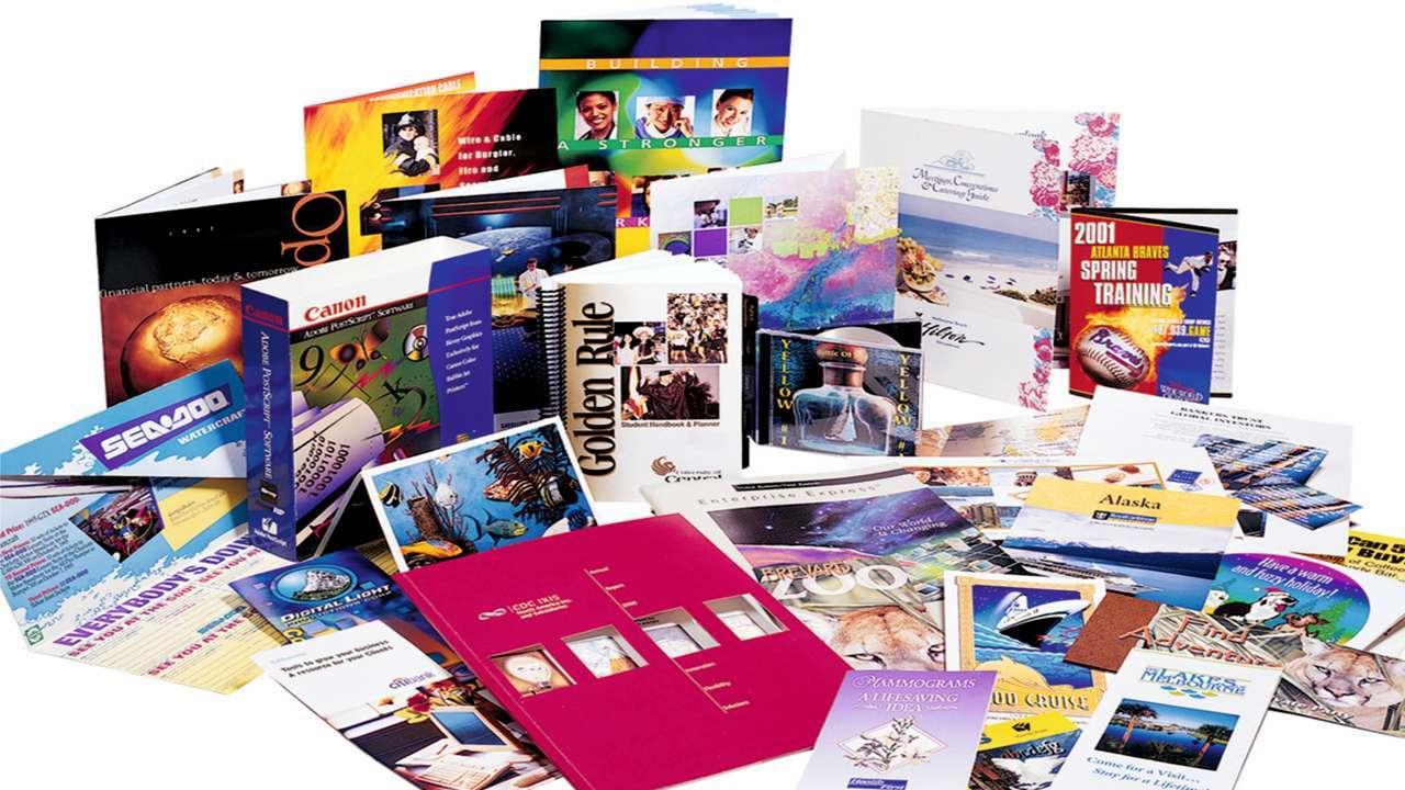 Progettazione brochure-promocielle